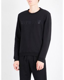 Kaem Logo-embroidered Cotton-blend Sweatshirt