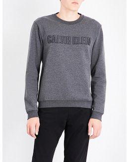 Kaem Logo-embroidered Cotton-blend Sweatshirt