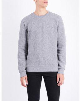 Kapler Embossed-logo Cotton-fleece Sweatshirt