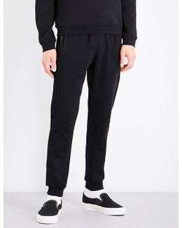 Kanter Mid-rise Cotton-blend Jogging Bottoms