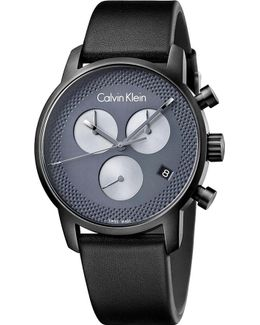 K2g177c3 City Black Ion-plated Stainless Steel Watch