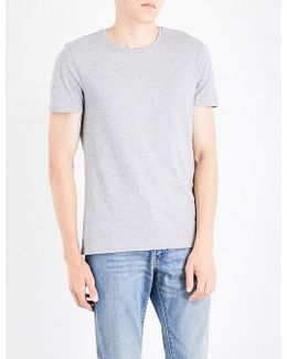 Travor Logo Cotton-jersey T-shirt