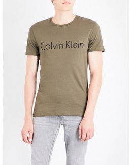 Tyson Logo Cotton-jersey T-shirt