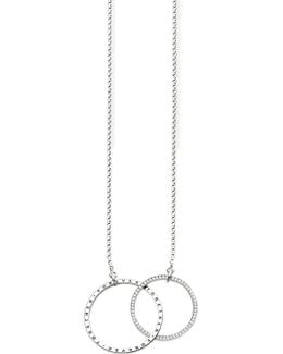 Together Forever Sterling Silver Necklace