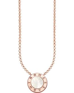 Glam & Soul Classic Rose Gold-plated Stering Silver Necklace