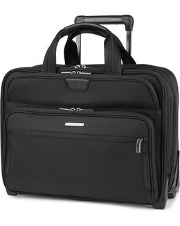 @work Large Expandable Rolinging Briefcase