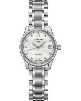 L2.128.0.87.6 Master Diamond Watch