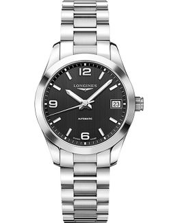 L2.785.4.56.6 Conquest Classic Stainless Steel Watch