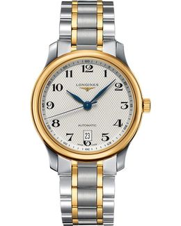 L2.628.5.78.7 Master Collection Stainless Steel And 18ct Gold Watch