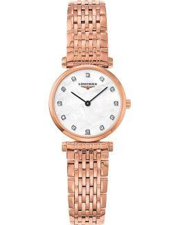 L4.209.1.97.8 La Grande Classique Rose Gold And Diamond Watch