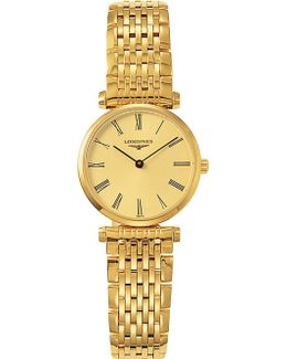 L4.209.2.31.8 La Grande Classique 18ct Gold-plated Stainless Steel Watch