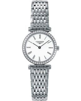 Ladies La Grande Classique Quartz Watch With Diamond Bezel