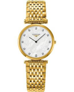 L4.512.2.87.8 La Grande Classique 18ct Yellow Gold And Stainless Steel Watch