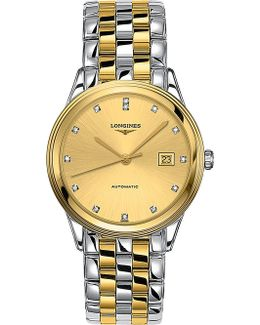 L4.874.3.37.7 Flagship Diamond And Gold Watch