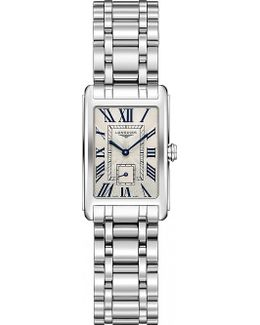 L5.255.4.71.6 Dolcevita Stainless Steel Watch