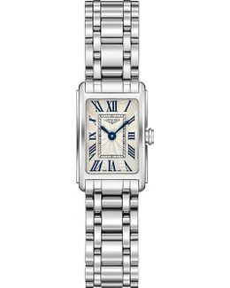 L5.258.4.71.6 Dolcevita Stainless Steel Watch