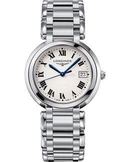 L8.114.4.71.6 Primaluna Stainless Steel Watch