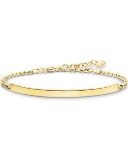 Love Bridge 18ct Yellow Gold-plated Bracelet