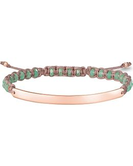 Love Bridge 18st Rose Gold-plated Bracelet