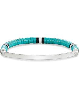 Ethno Love Bridge Sterling Silver Bracelet