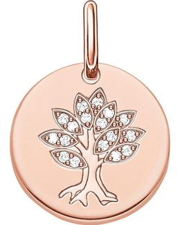 Tree Of Life 18ct Rose Gold Plated Sterling Silver Pendant