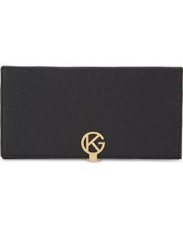 Leather Logo Wallet