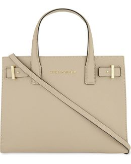 London Saffiano Leather Tote