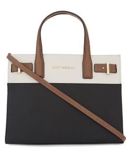 London Saffiano Leather Tote