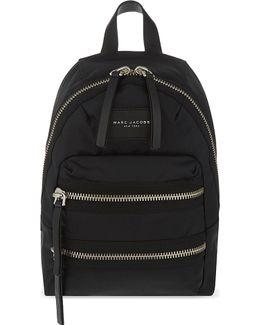 Biker Nylon Mini Backpack