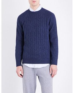 Cable-knit Cashmere Knitted Jumper