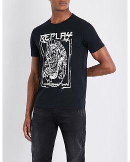 Seven Dark Days Cotton-jersey T-shirt