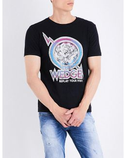 The Wedge Cotton-jersey T-shirt