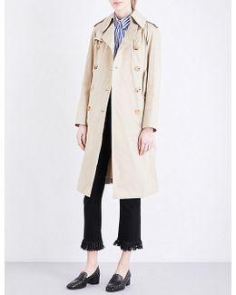 Nino Cotton-gabardine Coat