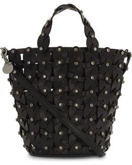 Maxine Leather Bucket Bag