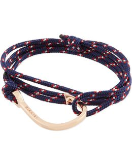 Rose Gold Rope Hook Bracelet
