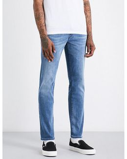 Geno Relaxed-fit Skinny Stretch-denim Jeans