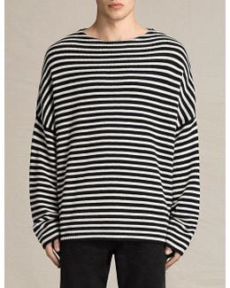 Marcel Oversized Cotton And Wool-blend Jumper