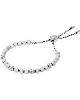 Brilliance Silver-toned Bracelet
