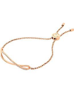 Bracelet Gold And Crystal Bracelet