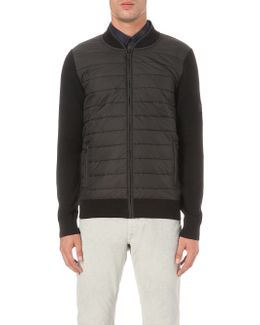 B.intl Baffle Quilted Shell And Wool Jacket