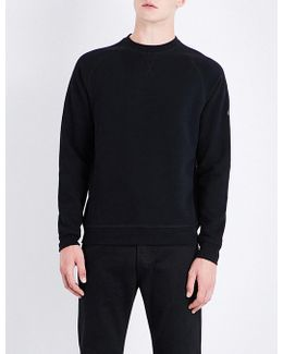Gauge Logo-patch Cotton-blend Sweatshirt