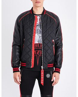 Narita Quilted Shell Bomber Jacket
