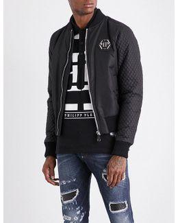 Farran Skull-applique Shell Jacket