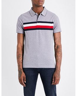 Oakes Stretch-cotton Piqué Polo Shirt