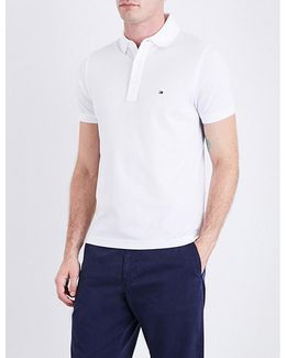 Core Slim-fit Cotton-piqué Polo Shirt