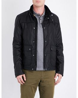 Inlet Waxed-cotton Jacket