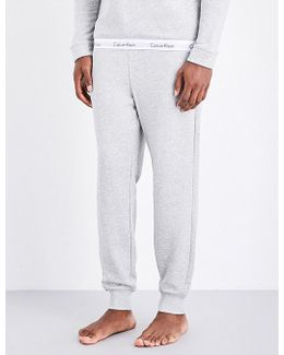 Mens Modern Cotton-blend Jogging Bottoms