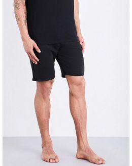 Logo-print Cotton-blend Shorts