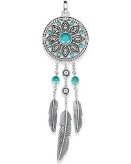 Dreamcatcher Sterling Silver Pendant