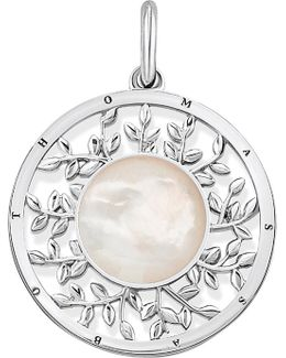 Tree Of Love Sterling Silver And Mother-of-pearl Pendant